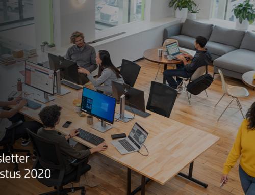 Met de juiste tools per profiel, werken we overal en altijd even efficiënt – augustus 2020
